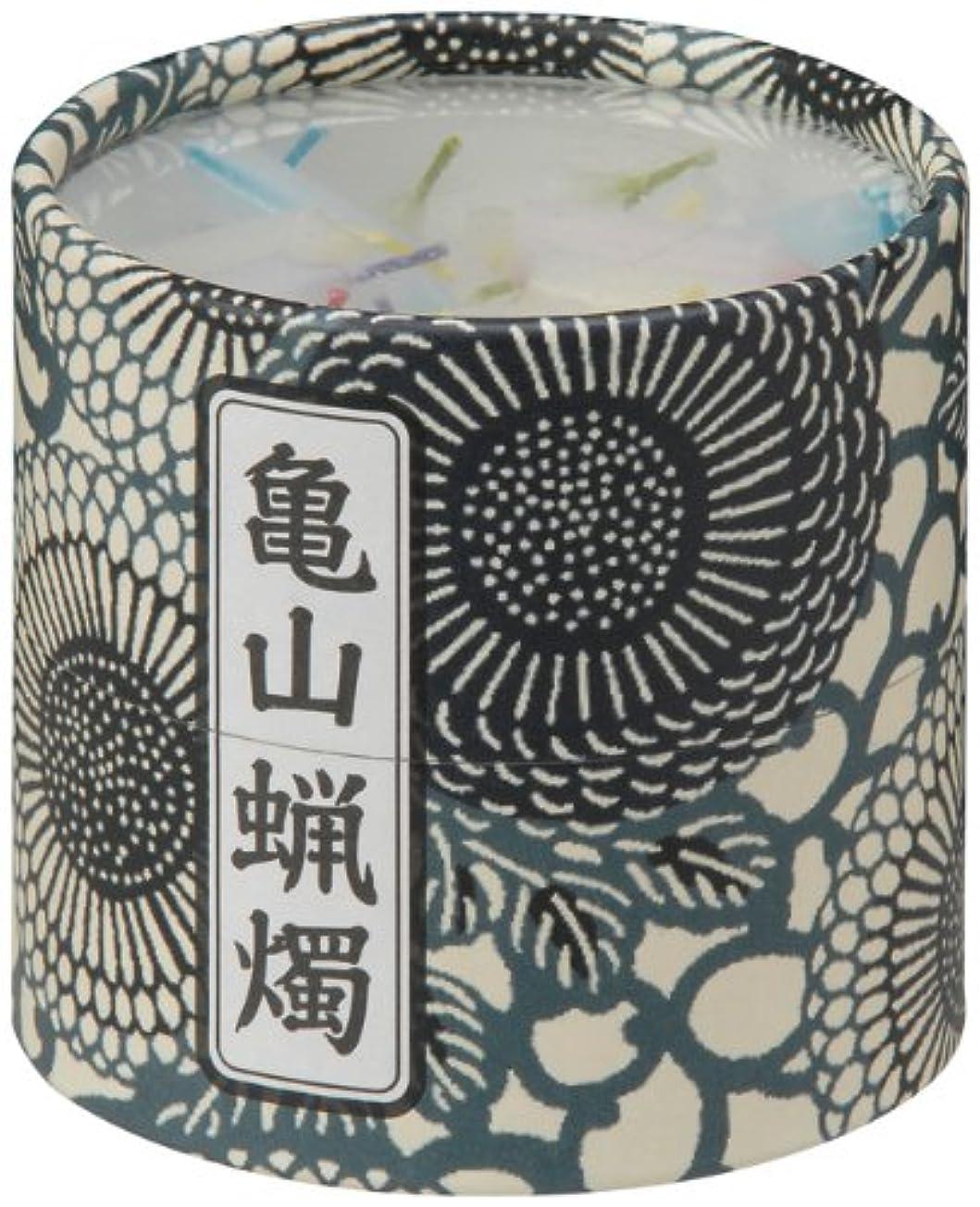 ガラガラ電化するによって亀山五色蝋燭(小) 約130本入り