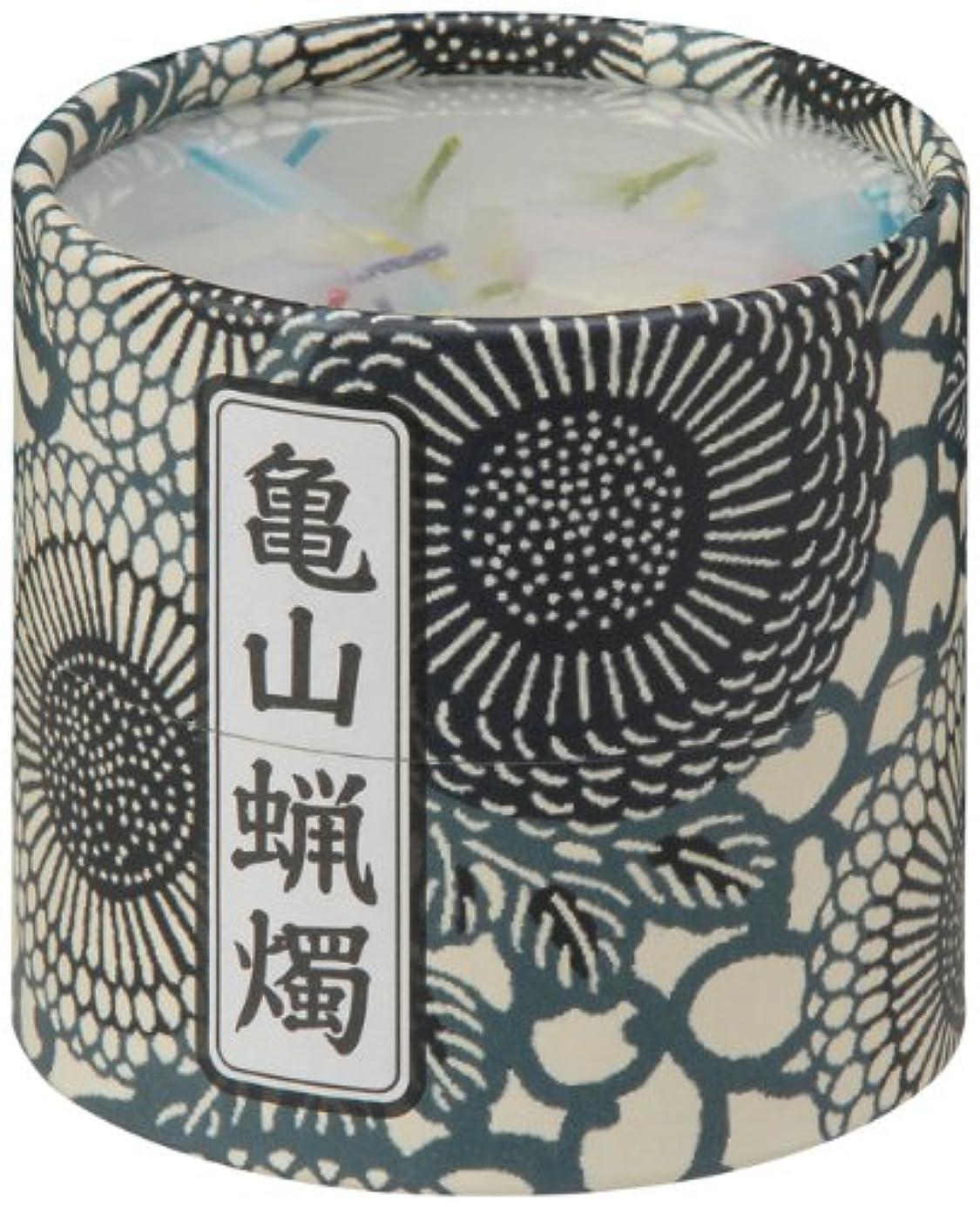 草想定つぼみ亀山五色蝋燭(小) 約130本入り