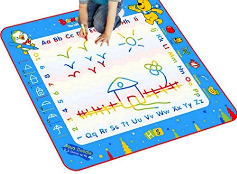 HuaQingPiJu-JP 子供のための水の落書きマットマジック落書きの描画ボードは、絵画の描画を書く