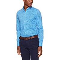 Tommy Hilfiger Men's Micro Flower Slim Fit Shirt