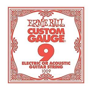【国内正規輸入品】Ernie Ball アーニーボール #1009 バラ弦 09 6本セット