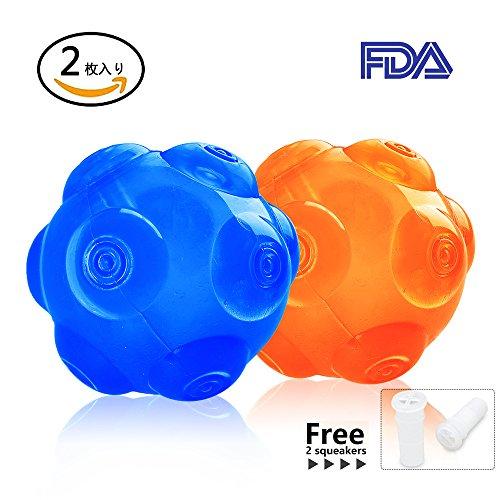 WeinaBingo 犬用 玩具ボール 耐久性 ゴムのおもちゃ 耐噛みトレーニングのおもちゃ インタラクティブおも...