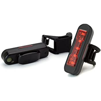 crops(クロップス) EZ400MU ブラック テールライト USB充電 自動点滅 ブラック ブラック