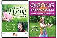 Bundle: Qigong for Women 2-DVD set/Beginner Qigong for Women by Daisy Lee/Qigong for Women by Lisa B O'Shea (YMAA) [並行輸入品]