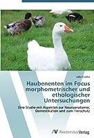 Haubenenten im Focus morphometrischer und ethologischer Untersuchungen: Eine Studie mit Aspekten zur Neuroanatomie, Domestikation und zum Tierschutz