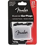Fender フェンダー イヤープラグ MUSICIAN SERIES BLK EAR PLUGS
