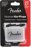 Fender フェンダー イヤープラグ MUSICIAN SERIES BLK EAR PLUGS