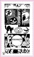 ハロウィーンホラーナイト ~ クリアスタンプ (9x18cm) // Halloween Horror Night ~ Clear stamps pack (9x18cm) FLONZ