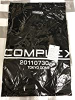 COMPLEX 日本一心 布袋寅泰 吉川晃司 Tシャツ ロゴ ブラック XLサイズ