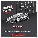 TARMACWORKS 1/64 メルセデスベンツ C 63 AMG Coupe Black Series Police Car 完成品