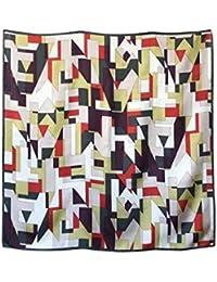 横浜スカーフ シルク100% 日本製 おしゃれ エレガント レディース 大判 プリント