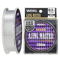 VARIVAS(バリバス) エステルライン アジングマスター 200m 0.3号 1.4lb クリア