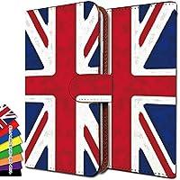 KEIO ケイオー GRAND X LTE カバー 手帳型 国旗 grandx 手帳 イギリス国旗 GRAND ケース X ケース LTE ケース イギリス グランド 手帳型ケース エックス 手帳型ケース ittnイギリスt0594