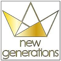 new generations カッティングステッカー〈S〉金
