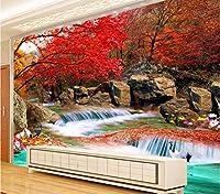 Jason Ming カスタム3D写真の壁紙リビングルームテレビの背景自然風景の壁画現代アートの壁紙壁画3D-250X175Cm