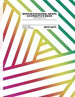 Medium Hexagonal Graph Composition Book: Geometric Prism (Style B) (Geometric Prism-B)