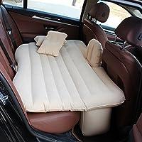 SUVセックスベッドプレミアムダブルエアーベッドベージュ幅広いソファーやマットレス用マットレスキャンプトラベルクイーンサイズ