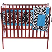 Baby Doll Bedding Mini Crib/ Port-a-Crib Bedding set, Blue by BabyDoll Bedding