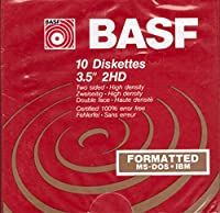 BASF 10 Diskettes 5.25' 2S/HD [並行輸入品]