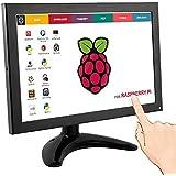 "ELECROW 10.1"" LCD Monitor Ips Touch Screen Display 1280x800 with HDMI VGA USB for Raspberry Pi 3 2 Model B B+ PS4 PS3 Xbox WiiU FPV Video TV CCTV Security Windows 7/8/10"