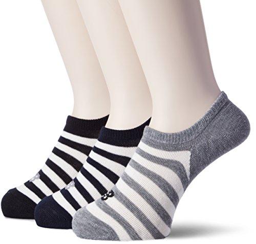 [ニューバランス] 9011 Socks スニーカーレングス3Pソックス AS2(アソートカラー2) 日本 XL (日本サイズXL...