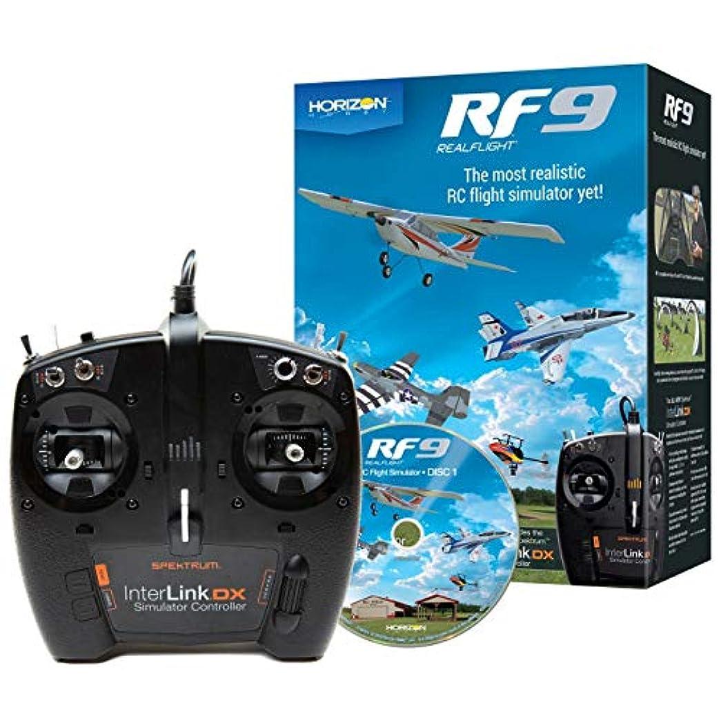 干し草アンドリューハリディ上流のHORIZON RealFlight RF9 Flight Simulator w/Spektrum Controller RFL1100