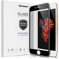 Arbalest iPhone6 6s 強化ガラスフィルム 日本板硝子 全面 液晶保護 98% 透過率 3D Touch対応 硬度9H 気泡防止 4.7インチ用 黒