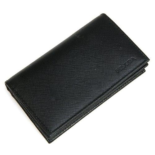 [プラダ]PRADA SAFFIANO 1 NERO ブラック メンズ カードケース 名刺入れ 2MC122_PN9_F0002 [並行輸入品]