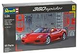 ドイツレベル 1/24 フェラーリ360モデナ スパイダー 07085 プラモデル