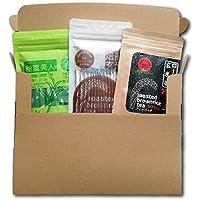 西尾製茶 3点セット(玄米コーヒー ティーバッグ・玄米コーヒー スティックタイプ・粉末緑茶)