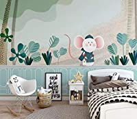 壁紙不織布プレミアム壁の壁画装飾アートプリントポスター写真写真モダン装飾リーフマウス写真リビングルーム保育園の寝室の家の装飾300cm x 210cm