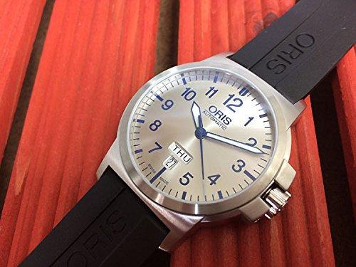 ORIS(オリス)腕時計 BC3アドバンスド デイデイト シ...