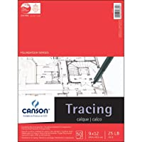 "Canson Foundation Series Tracing Paper Pad 9""X12""-50 sheets (並行輸入品)"