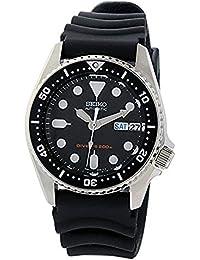 セイコー ダイバー 自動巻き レディース 腕時計 SKX013K ブラック [並行輸入品]