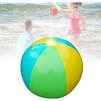 インフレータブル ウォーター ボール  75CM  芝生遊び 水 夏の日 子供用 おもちゃ噴水シャワーボール アウトドア キッズ 水遊び ビーチ 芝生 庭 アウトドア パーティー 噴水池 噴水できる 庭 夏対策 おもしろい