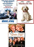 Boy Dog & Anger Movies 3 Pack Marley & Me/About a Boy Hugh Grant/The Upside to Anger Kevin Costner Feature Film Pack【DVD】 [並行輸入品]