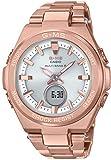 [カシオ]CASIO 腕時計 BABY-G ベビージー G-MS 電波ソーラー MSG-W200DG-4AJF レディース