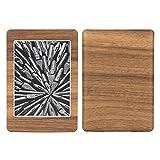【skinfact】KindlePaperWhite用 スキンシール 保護 カバー 高級感のある手触り (PaperWhite, ナチュラルウッド)