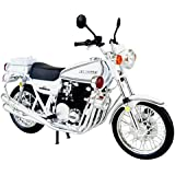 スカイネット 1/12 完成品バイク Kawasaki 750RS-P (Z2白バイ)