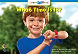 What Time Is It? (Math Learn to Read)