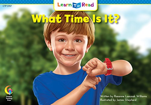 What Time Is It? (Math Learn to Read)の詳細を見る