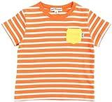 (ユナイテッドアローズ グリーンレーベル リラクシング) UNITED ARROWS green label relaxing サキゾメボーダー ポケットTシャツ 38171990929 45 Orange XS/95