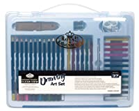 Royal & Langnickel RSET-ART3204 Essentials Clear View Large Art Case Set - Drawing