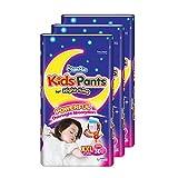 MamyPoko Kids Pants Girl, XXL, 30 Count, (Pack of 3)