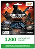 Xbox LIVE 1200 Microsoft Points for Call of Duty: Black O...