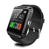 78aea610c2 Antech Bluetooth smart watch U8 スマート ウォッチ 1.44インチ 超薄型フルタッチ ウォッチ 多機能