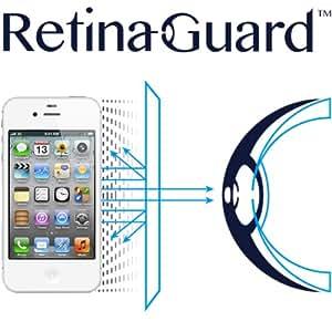 RetinaGuard iPhone4/4s ブルーライト90%カット保護フィルム