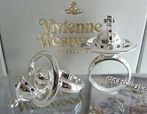 ヴィヴィアン ウエストウッド Vivienne Westwood New オーブ ポイズン リング SV925【L-14号】[並行輸入品]
