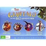 The Gruffalo and Other Big Adventures Boxset: The Gruffalo / The Gruffalo's Child /Room on the Broom / Stick Man