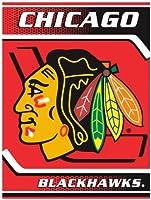 Northwest Chicago Blackhawks 60x 80Fleece Blanket–Chicago Blackhawks 60x 80